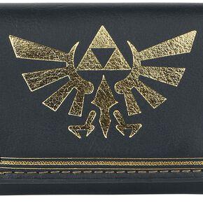 The Legend Of Zelda Triforce Portefeuille noir