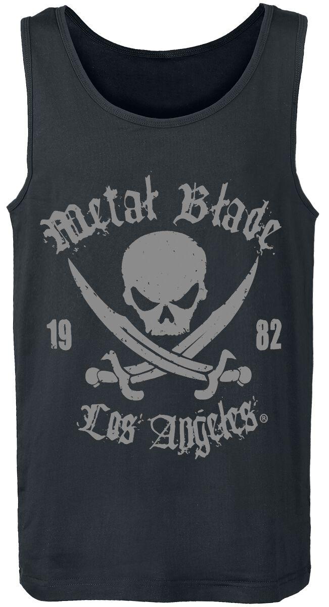 Merch dla Fanów - Topy - Tanktop Metal Blade Pirate Logo Tanktop czarny - 289826
