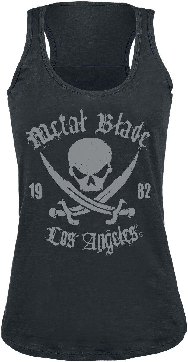 Merch dla Fanów - Topy - Top damski Metal Blade Pirate Logo Top damski czarny - 289827