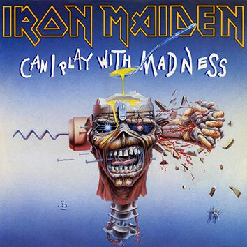 Image of   Iron Maiden Can I play with madness 7 inch-SINGLE standard