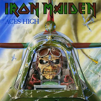 Image of   Iron Maiden Aces High 7 inch-SINGLE standard