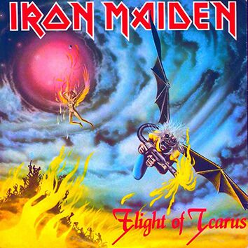Image of   Iron Maiden Flight of Icarus 7 inch-SINGLE standard