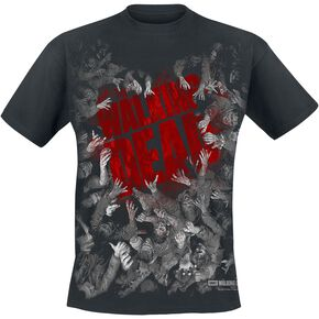 T-Shirt Homme Walking Dead Film Logo - Noir - L - Noir