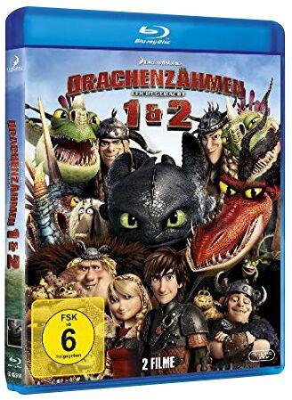 Drachenzähmen leicht gemacht 1&2 2-Blu-ray Stan...