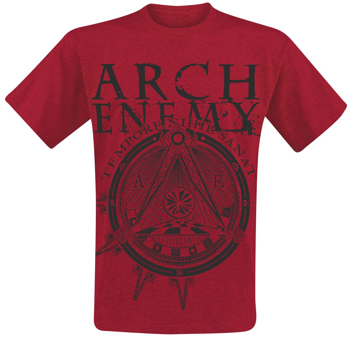 Image of   Arch Enemy Symbol T-Shirt rød