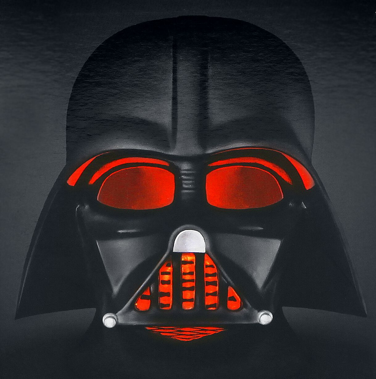 Image of   Star Wars Darth Vader Lampe sort