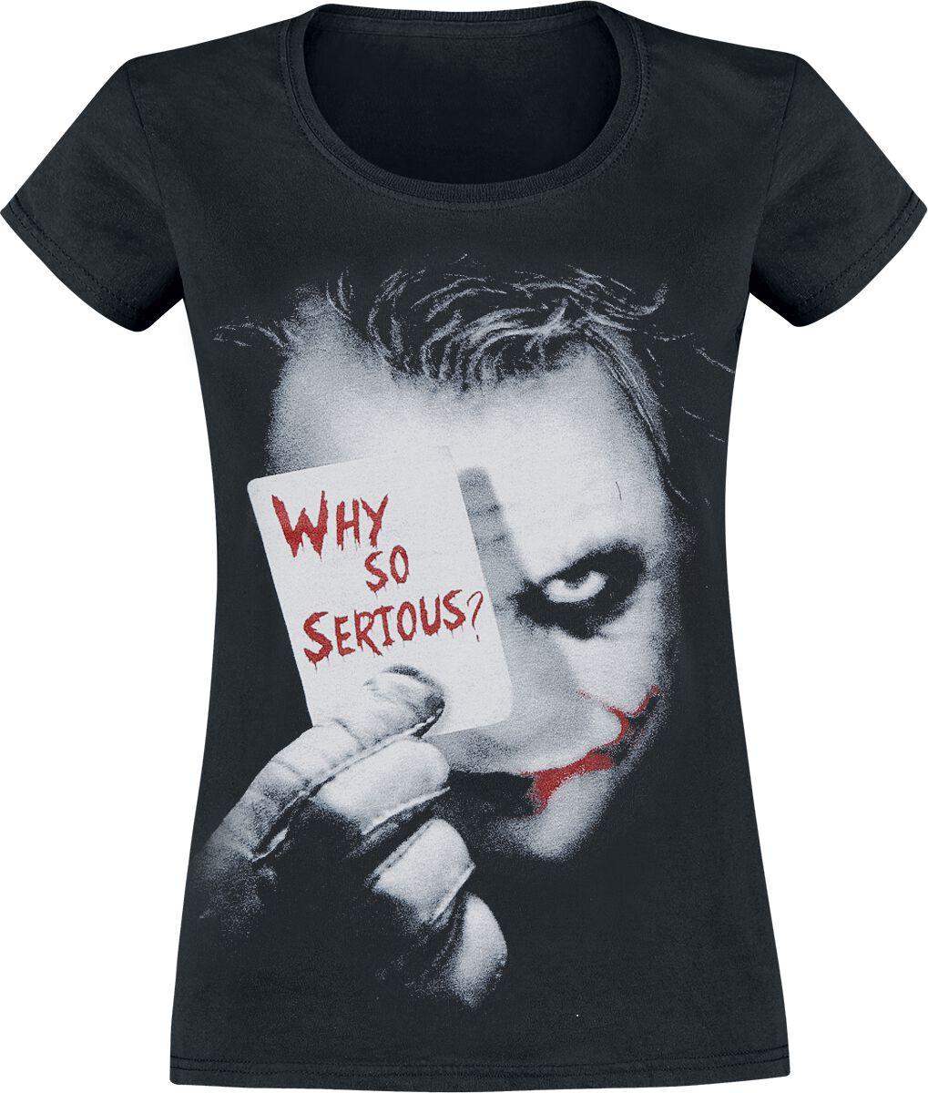 The Joker Why So Serious? Koszulka damska czarny