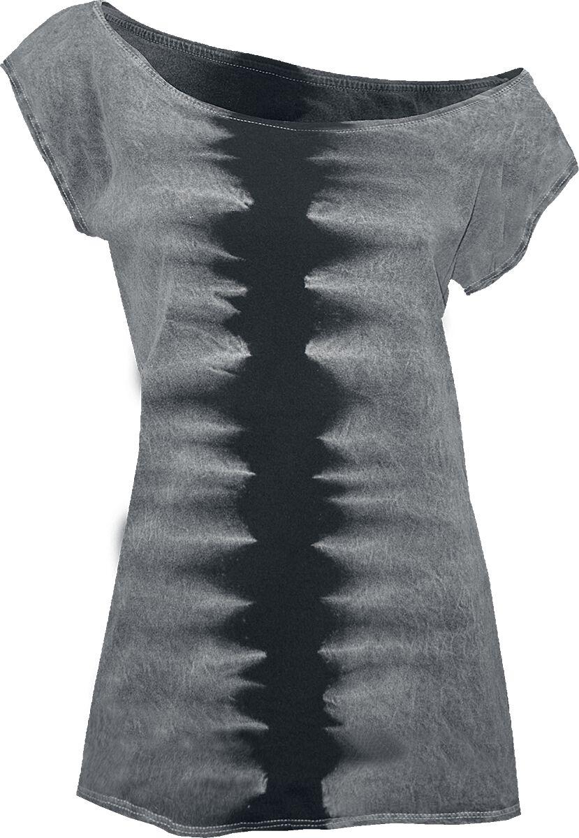 Image of   Outer Vision Marylin Zebra Girlie trøje grå