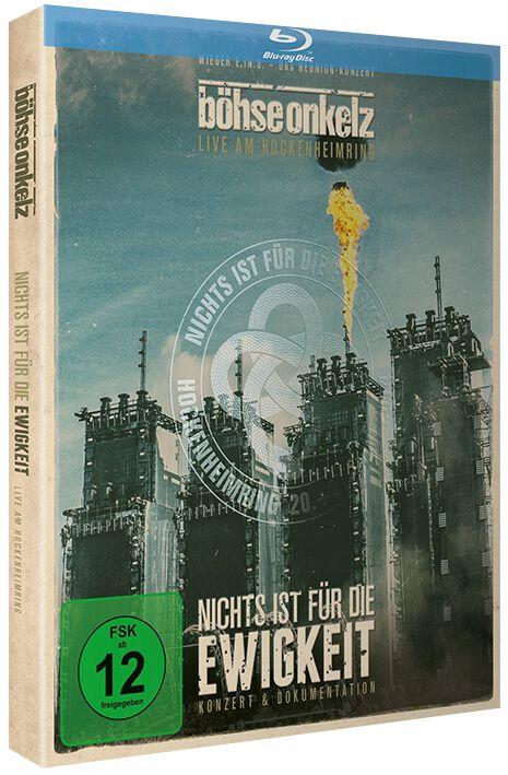 Image of   Böhse Onkelz Nichts ist für die Ewigkeit - Live am Hockenheimring 2014 2-Blu-ray Disc standard