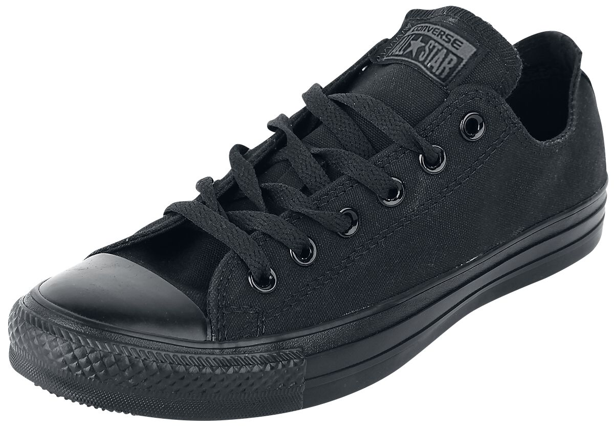 Image of   Converse CT AS Ox Black Monochrom Sneakers sort