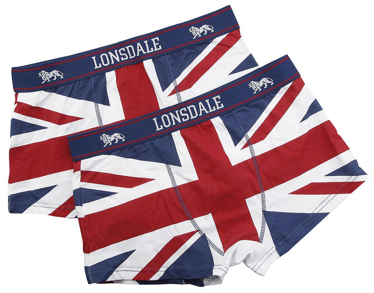 Marki - Bielizna - Bielizna Lonsdale London Tisbury Bielizna czerwony/biały/niebieski - 292848