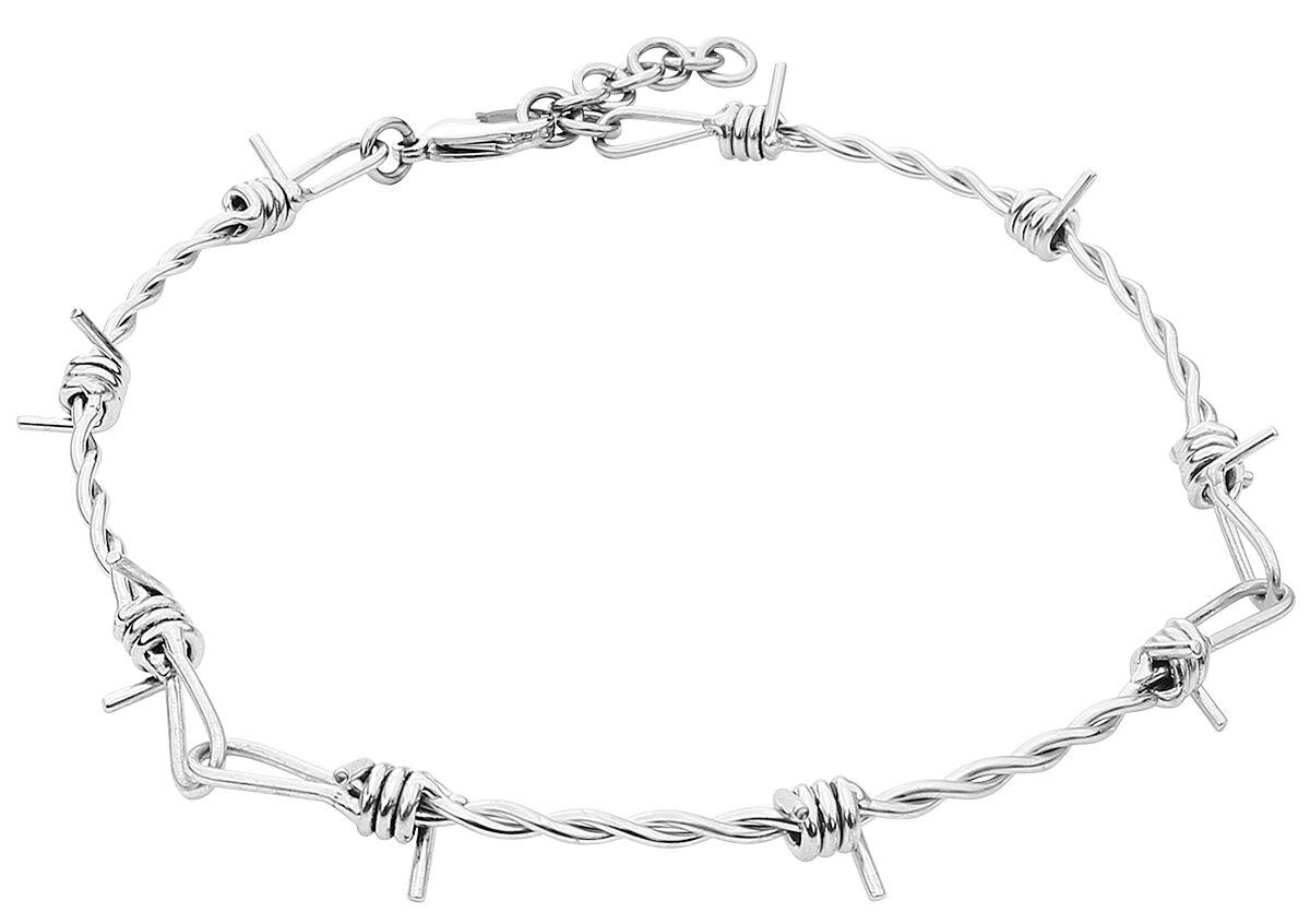 Image of   etNox hard and heavy Barbed Wire Halskæde Standard