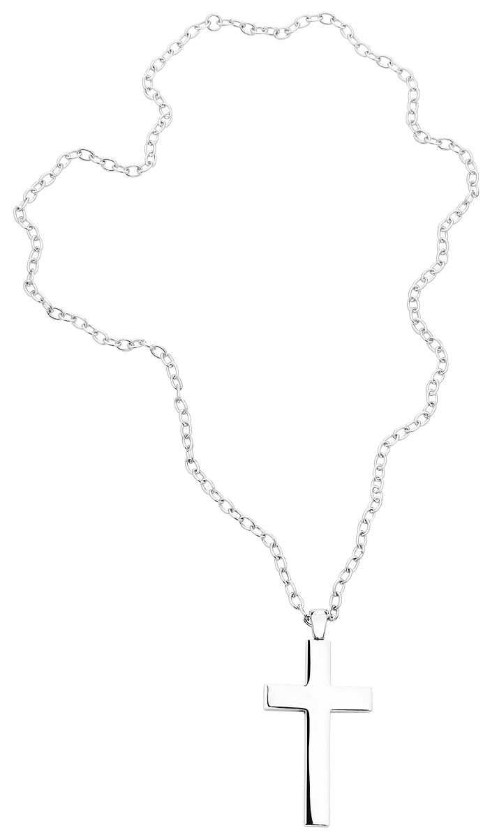 Image of   etNox hard and heavy Big Plain Cross Halskæde Standard