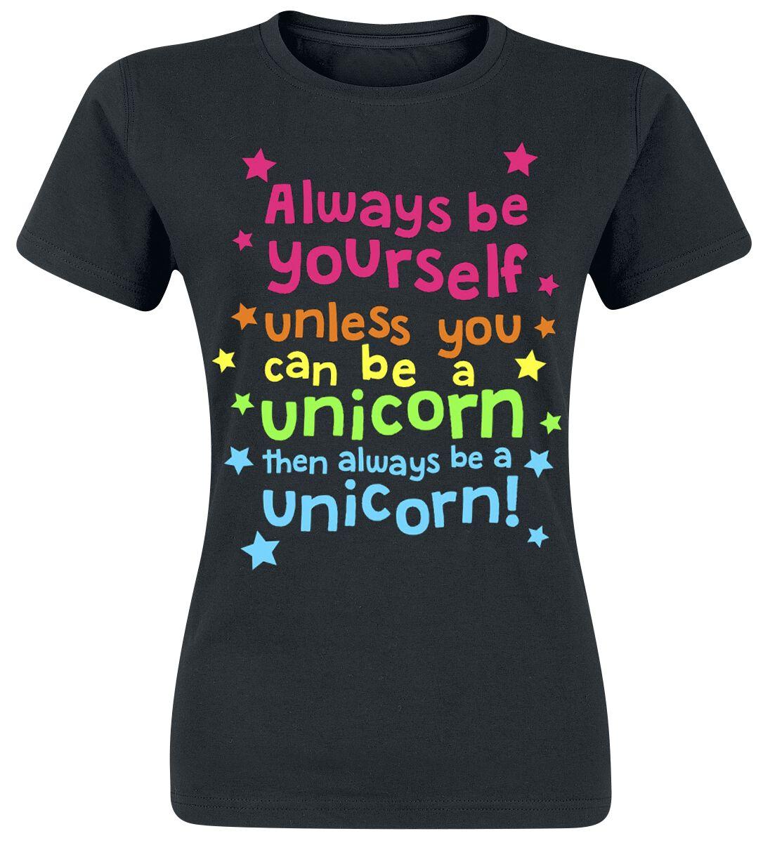 Fun Shirts - Koszulki - Koszulka damska Always Be Yourself Koszulka damska czarny - 293078