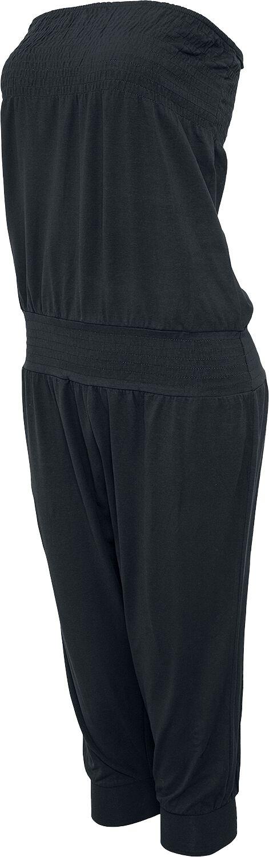 Image of   Urban Classics Ladies Shoulderfree Capri Jumpsuit Jumpsuit sort