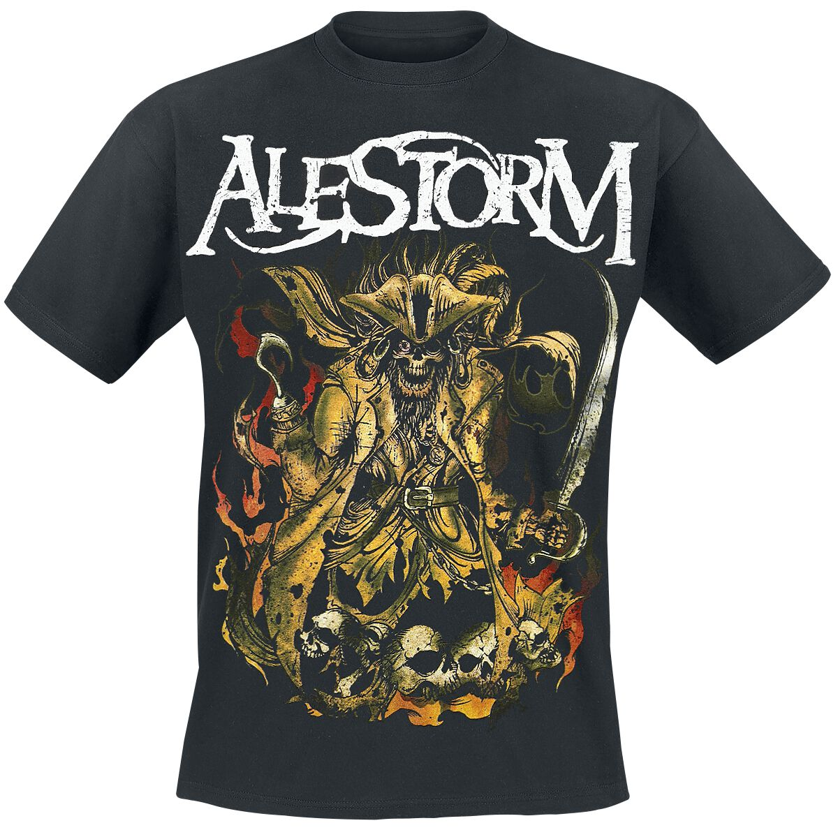 Zespoły - Koszulki - T-Shirt Alestorm We Are Here To Drink Your Beer! T-Shirt czarny - 293590