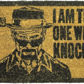 Breaking Bad I Am The One Who Knocks Paillasson Standard