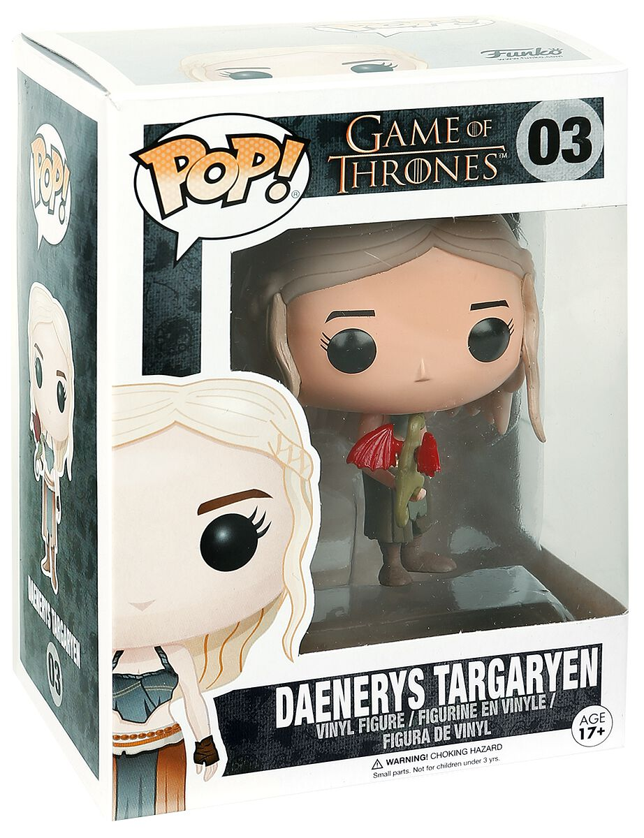 Image of   Game Of Thrones Daenerys Targaryen Vinyl Figure 03 Samlefigur Standard