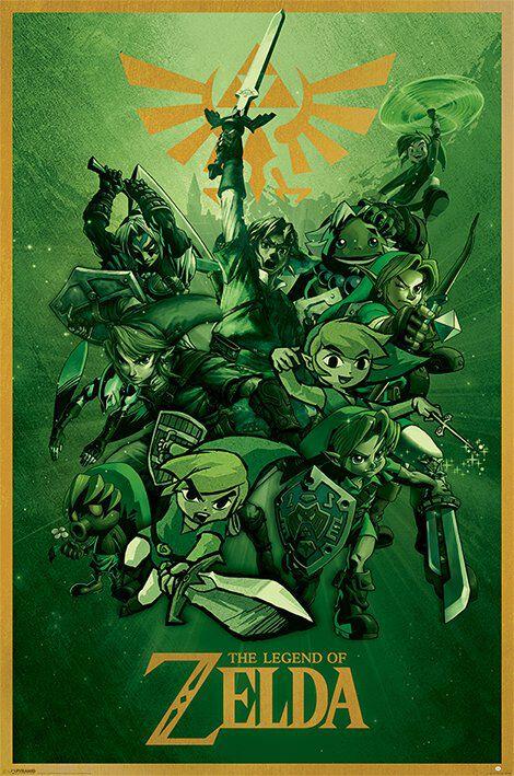 Image of   The Legend Of Zelda Link Plakat Standard