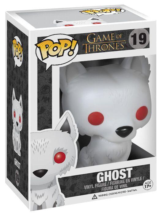Image of   Game Of Thrones Ghost Vinyl Figure 19 Samlefigur Standard