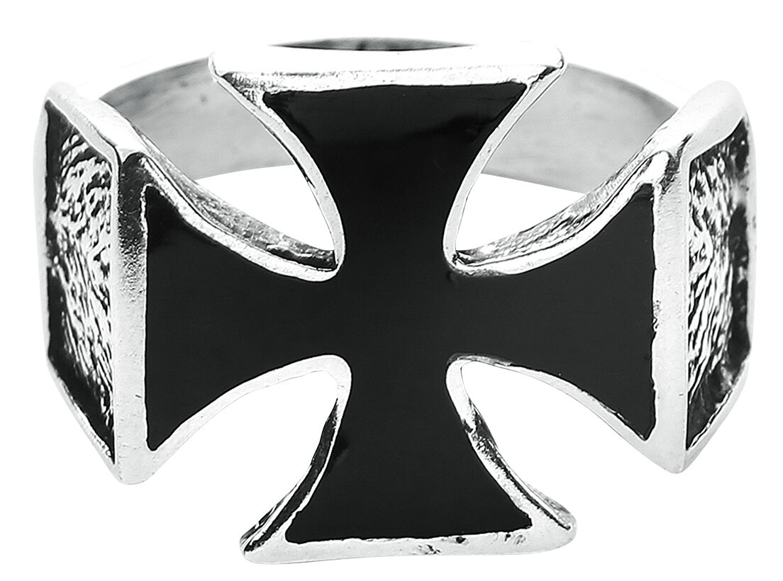 Image of   etNox hard and heavy Iron Cross Ring Standard