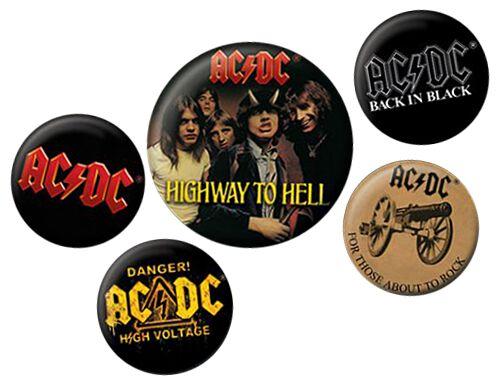 Image of   AC/DC Logo Badgepakke Standard