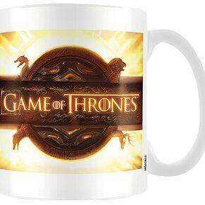 Game Of Thrones Logo D'ouverture Mug blanc