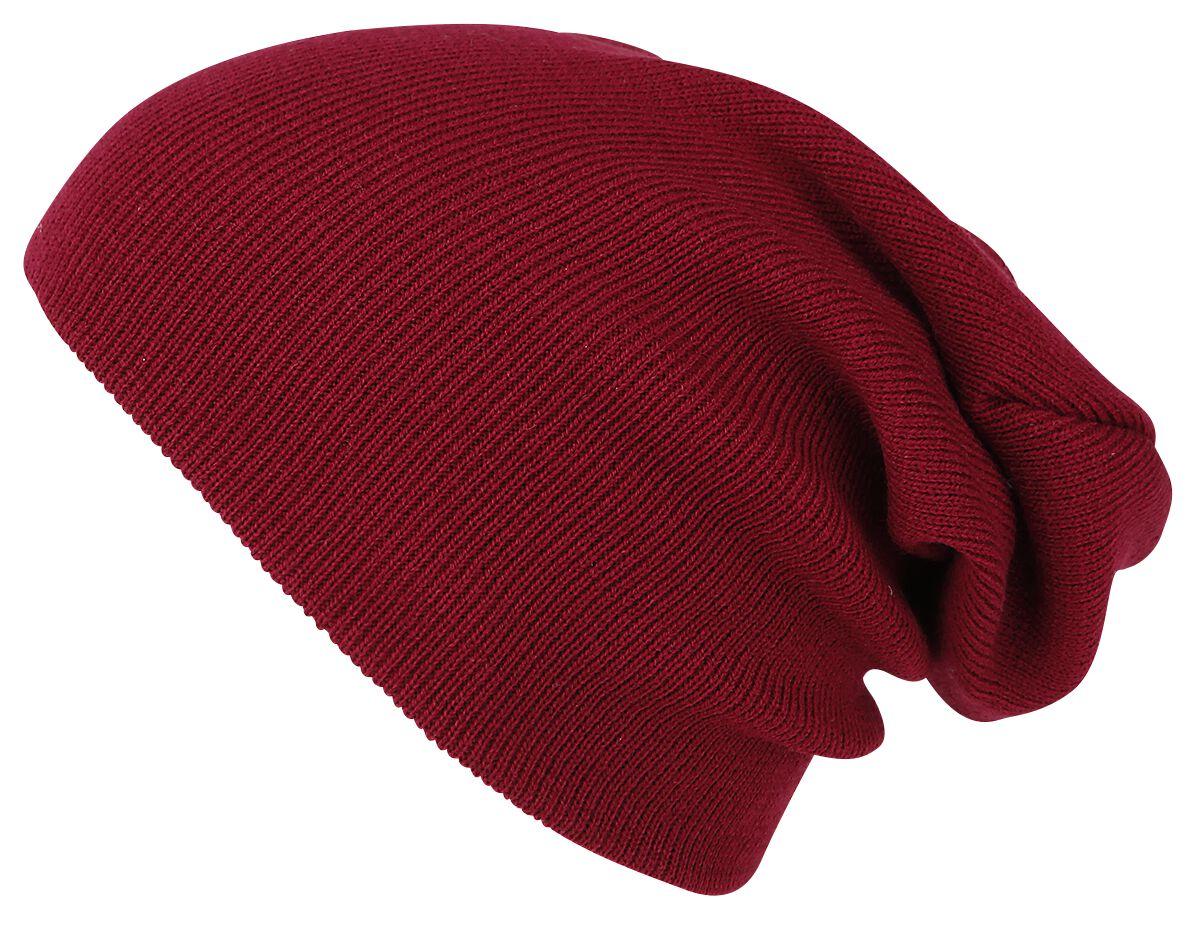 Image of   Urban Classics Beanie Basic Flap Beanie rødbrun