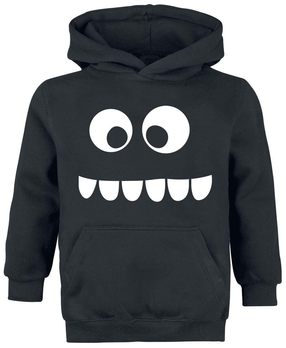Fun Shirts - Odzież dziecięca i niemowlęca - Bluza z kapturem dziecięca Grumpfi Bluza z kapturem dziecięca czarny - 294757