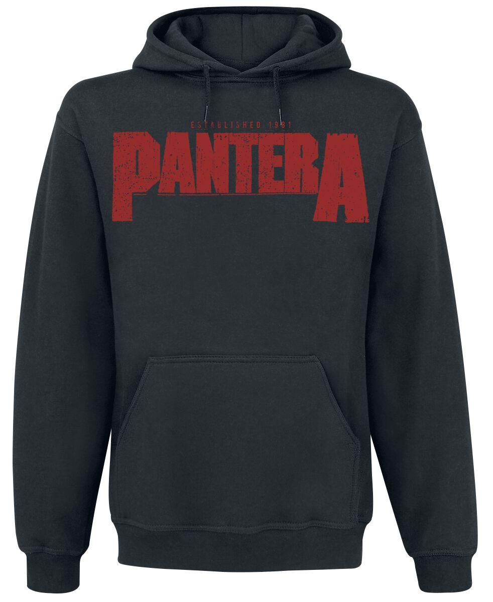 Zespoły - Bluzy z kapturem - Bluza z kapturem Pantera Vulgar Display Of Power Bluza z kapturem czarny - 296186