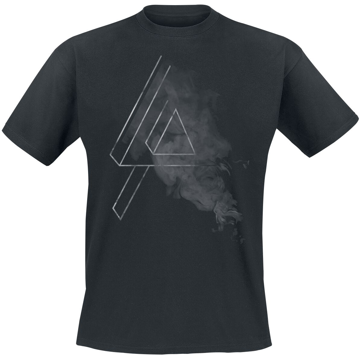 Image of   Linkin Park Smoke Logo T-Shirt sort