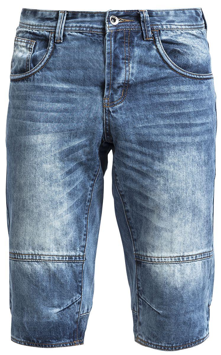 Image of   Forplay Denim Shorts Shorts blå