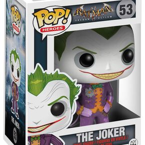 Figurine Pop! Joker DC Comics Arkham Asylum
