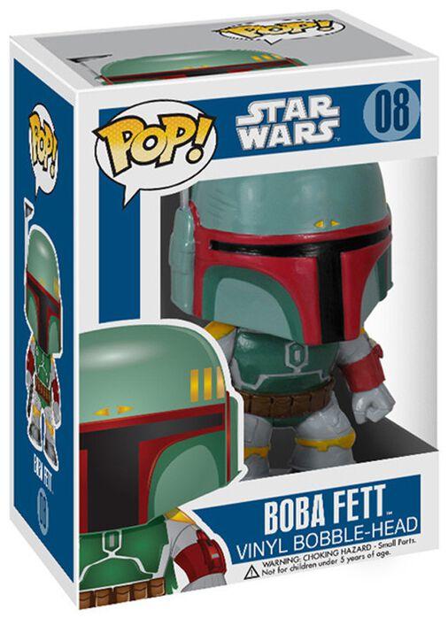 Image of   Star Wars Boba Fett Bobble-Head 08 Bobblehead Standard