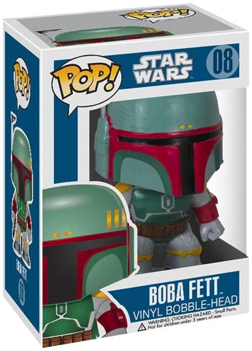 Image of   Star Wars Boba Fett Bobble-Head 08 Samlefigur Standard