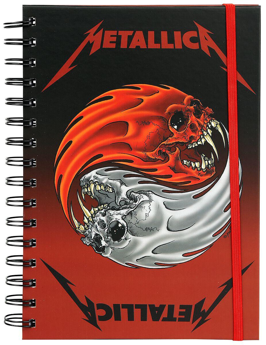 Metallica Yin Yang Skulls - None - Standard