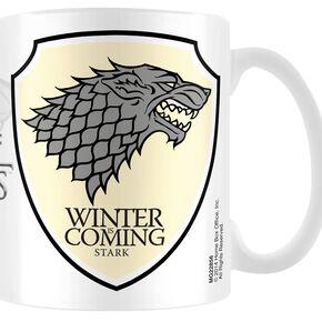 Game Of Thrones Maison Stark Mug blanc