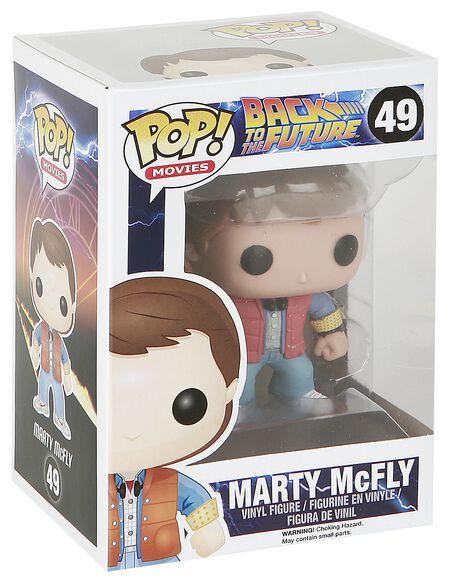 Figurine Pop! Marty Mcfly Retour vers le futur
