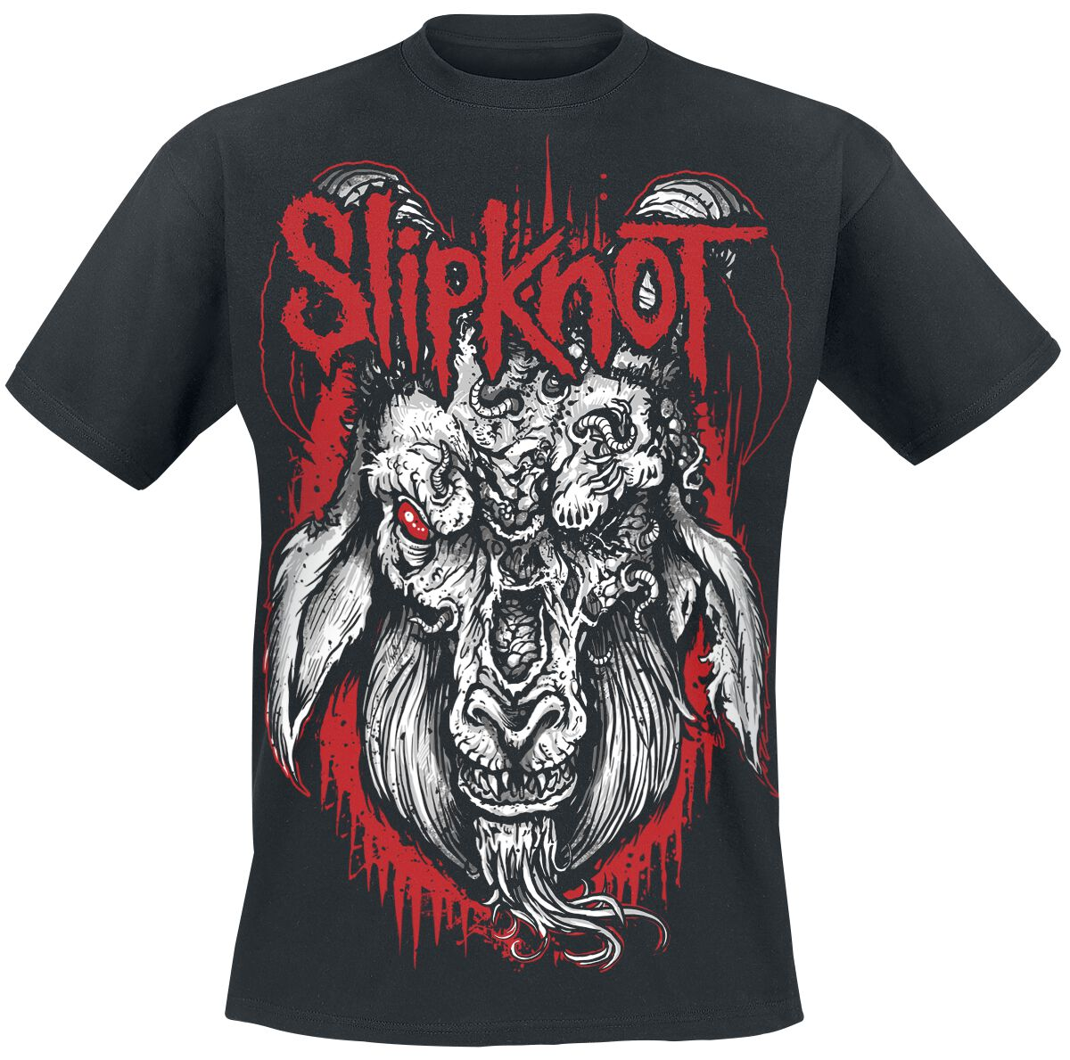 Image of   Slipknot Rotting Goat T-Shirt sort