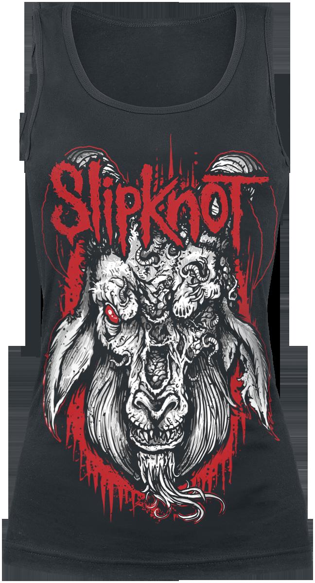 Slipknot - Rotting Goat - Girls Top - black image
