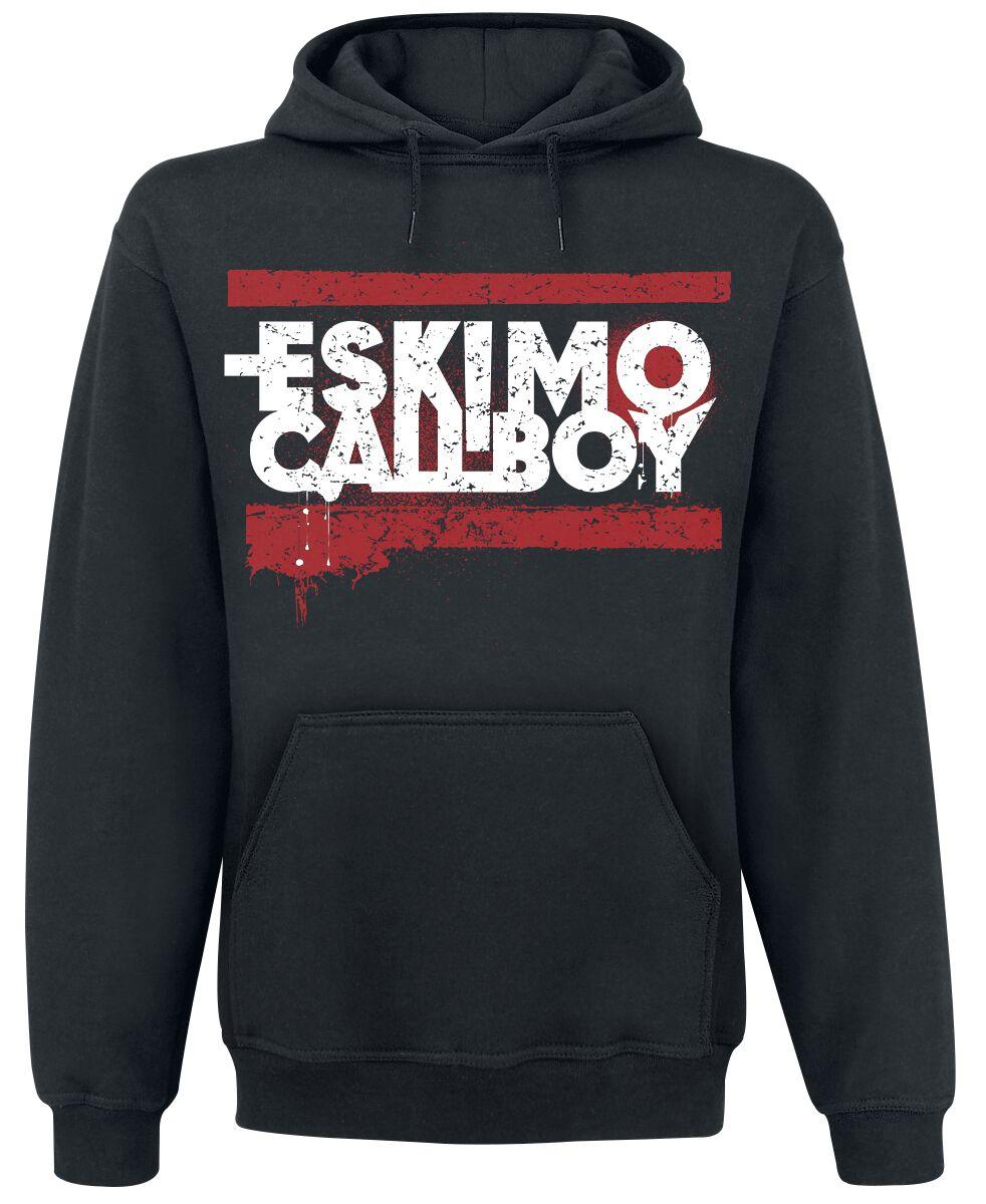 Zespoły - Bluzy z kapturem - Bluza z kapturem Eskimo Callboy Let's Get Fucked Up Bluza z kapturem czarny - 297404