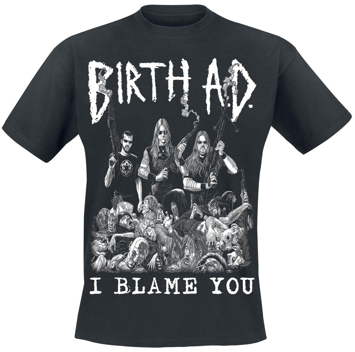 Zespoły - Koszulki - T-Shirt Birth A.D. Kill Everybody T-Shirt czarny - 297411