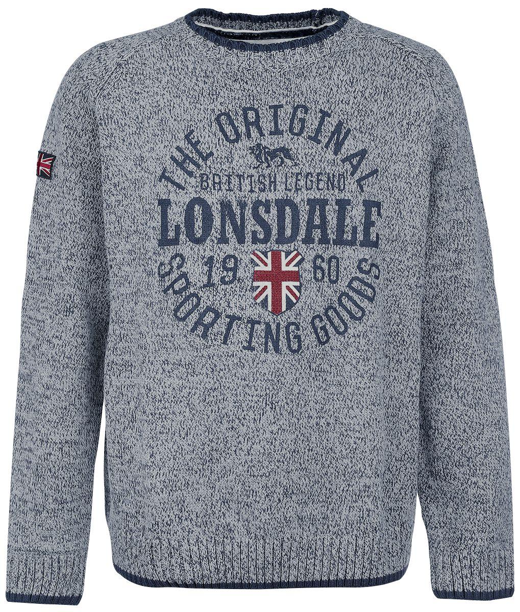 Marki - Bluzy - Bluza Lonsdale London Borden Bluza szary - 298255