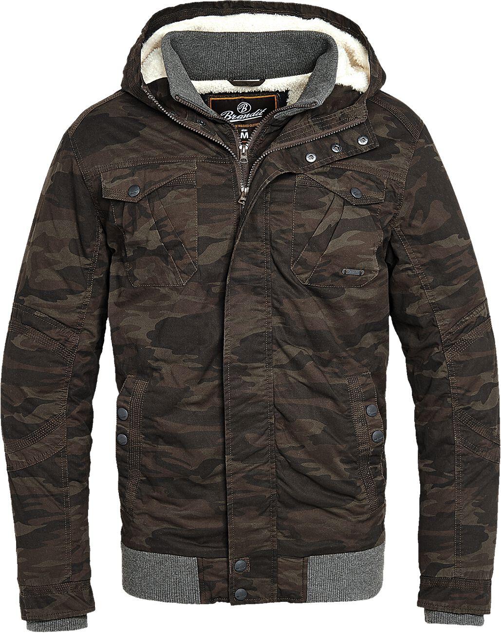 Image of   Brandit Parkmont Jacket Vinterjakker camouflage