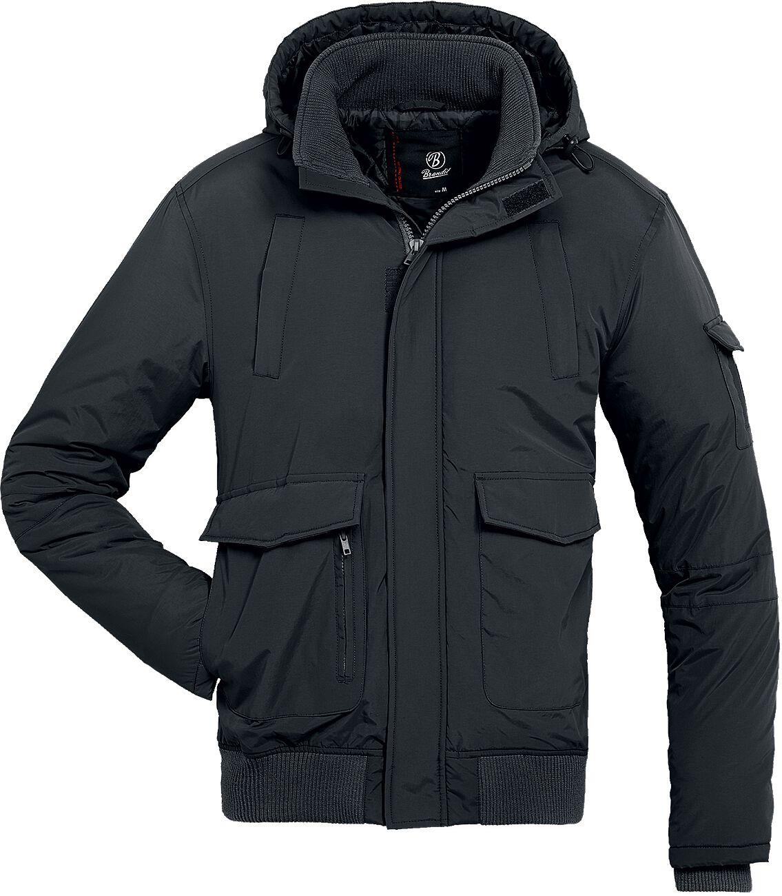 Image of   Brandit Halifax Jacket Jakke sort