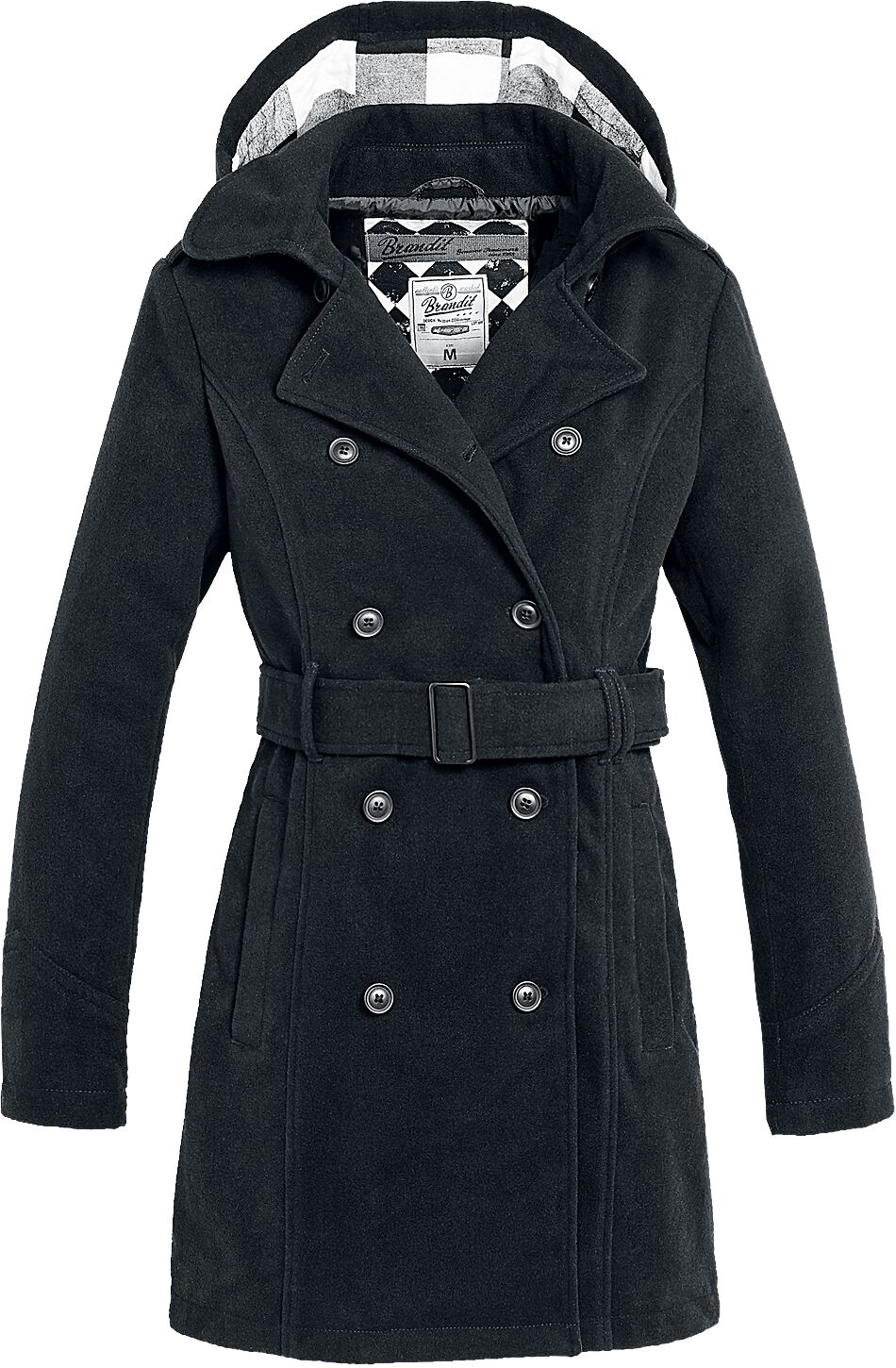Image of   Brandit Girls Coat Long Girlie frakke sort