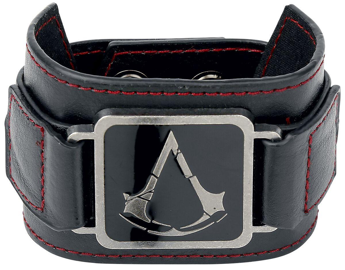 Image of   Assassin's Creed Metal Crest Armbånd sort