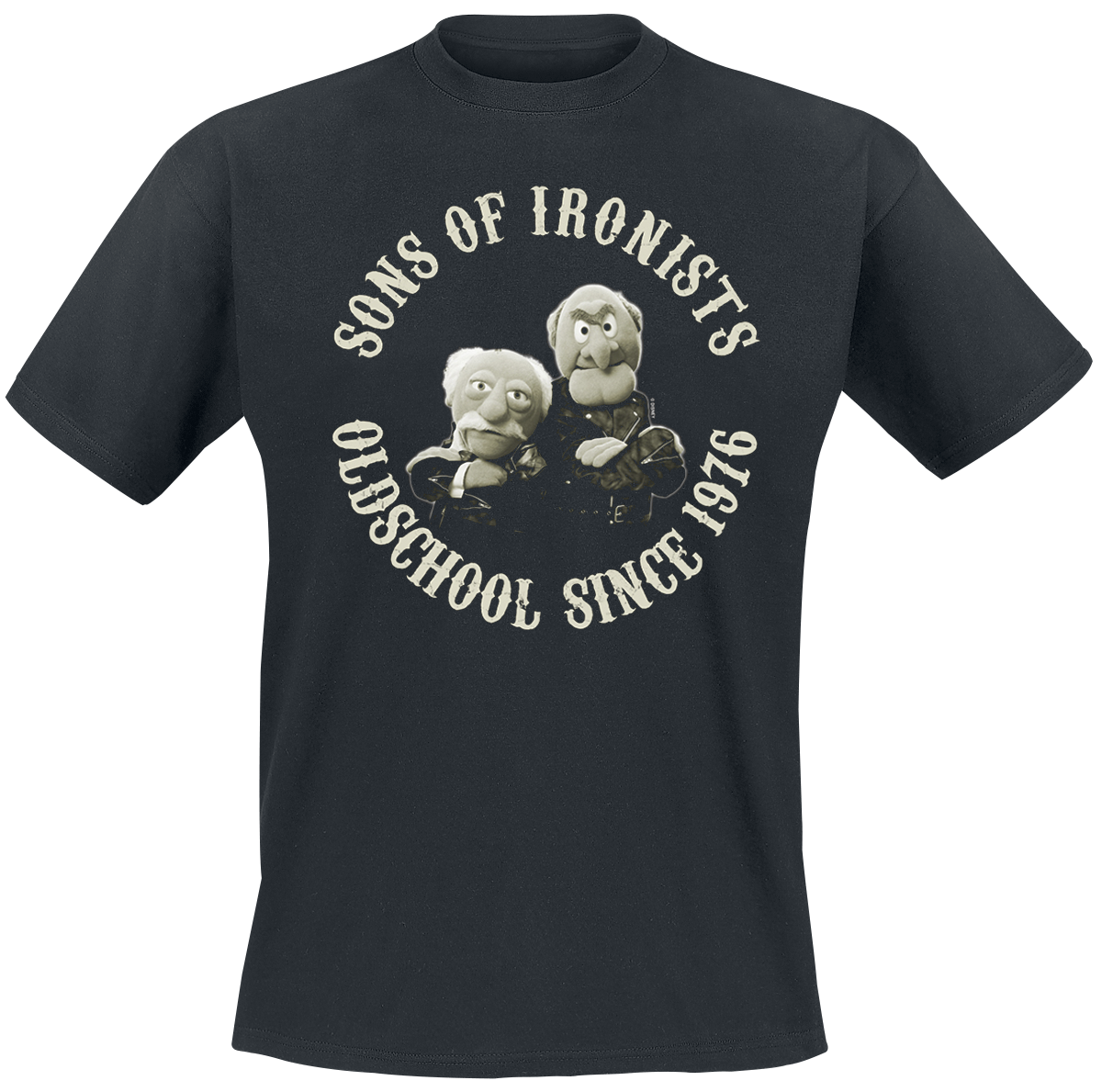 The Muppets - Sons Of Ironists - T-Shirt - black