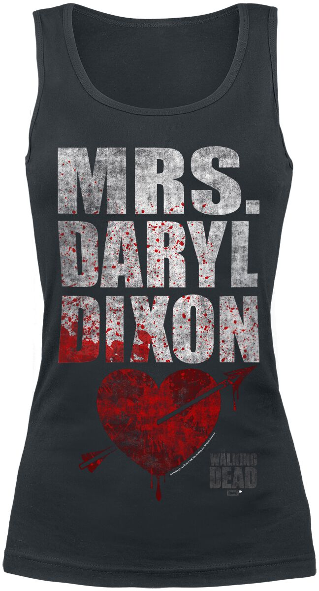Image of   The Walking Dead Mrs. Daryl Dixon Girlie top sort