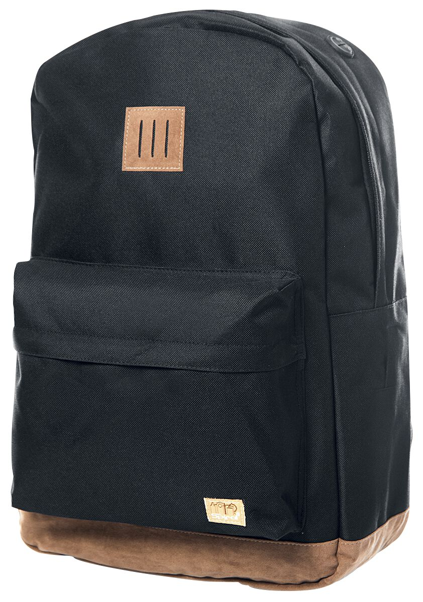Fun & Trends - Torby i Plecaki - Plecak Spiral UK Classic Plecak czarny - 299895